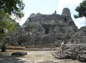 Becan Mayan Ruins - photo © Susanna Starr